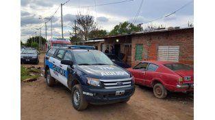 Procedimiento antinarcóticos de la Policía Federal Argentina