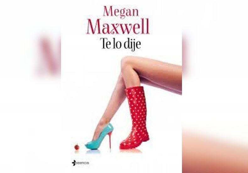 Este miércoles pedí opcional la novela de Megan Maxwell