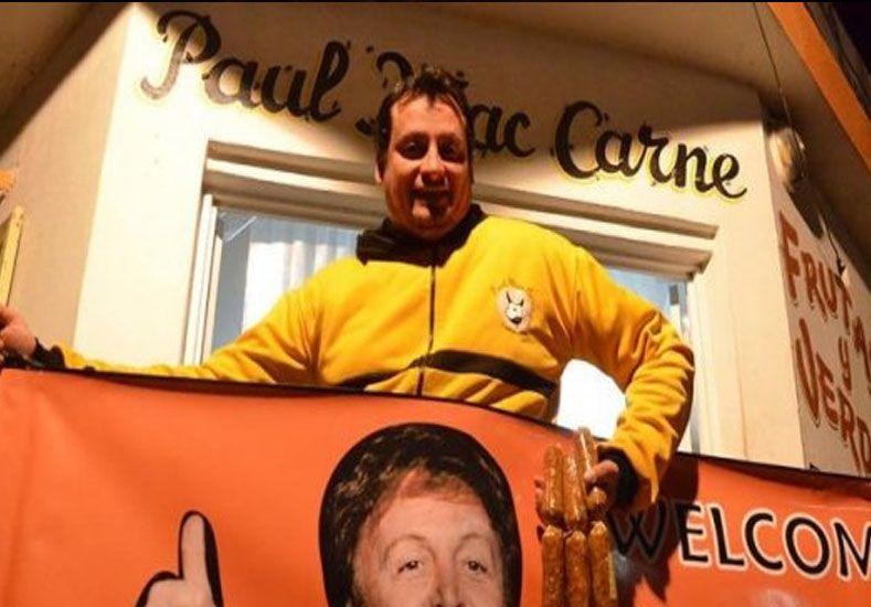 Inventaron el choripán vegano para venderlo en el recital de Paul McCartney