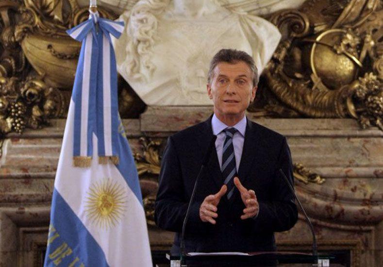 No quiero un argentino que tenga menos oportunidades que otro, afirmó Macri