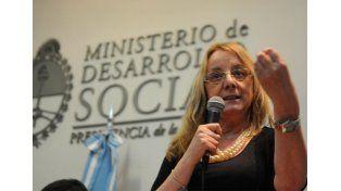 Alicia Kirchner es ministra de Desarrollo Social y actual gobernadora de Santa Cruz.