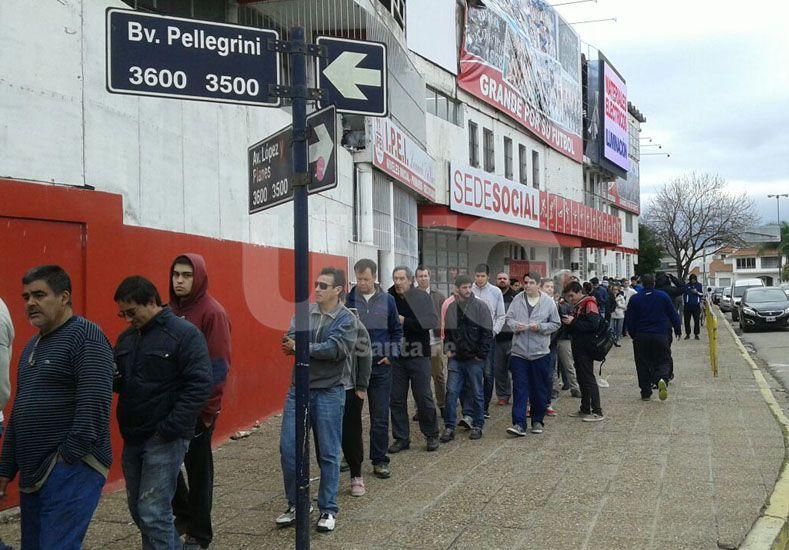 A buen ritmo se venden entradas en Unión para el partido por la Copa Argentina en Rafaela