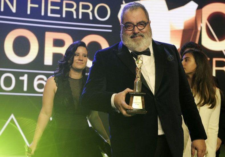 Jorge Lanata ganó el Martín Fierro de Oro en una noche de fuerte disputa política