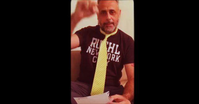 Con un video, Jorge Rial anticipó los ganadores de los Martín Fierro