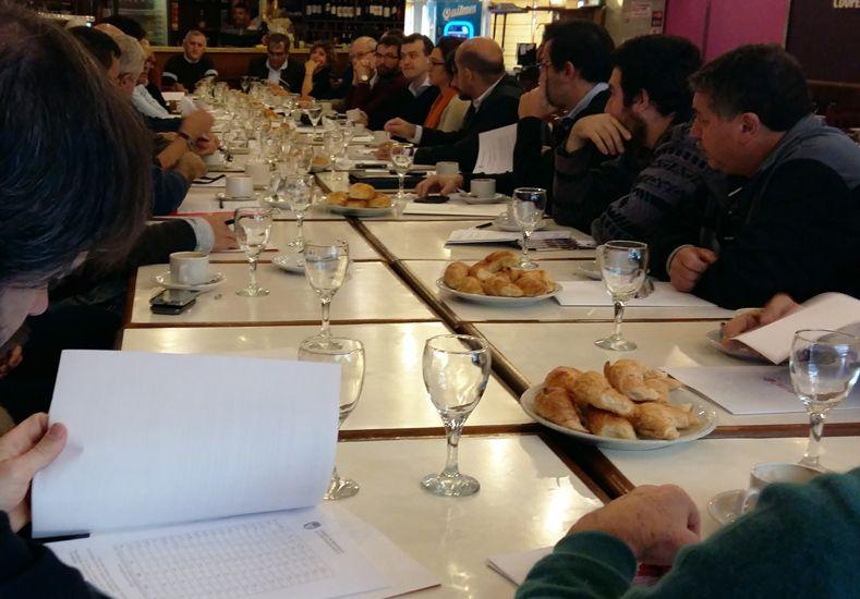 Presentación. Se hizo en una empresa recuperada por los trabajadores en la ciudad de Rosario. Foto: Prensa Blanco