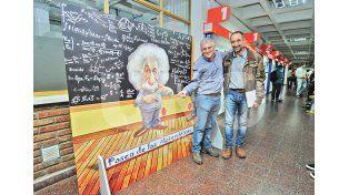 Responsables. Roberto Vignolo y Cristian Bernal son los creadores. Foto: Manuel Testi / UNO Santa Fe