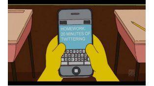 Homero, en vivo por primera vez para los fans de Los Simpsons