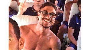 Mirá cómo Daniel Osvaldo festejó su primera noche como ex jugador de Boca