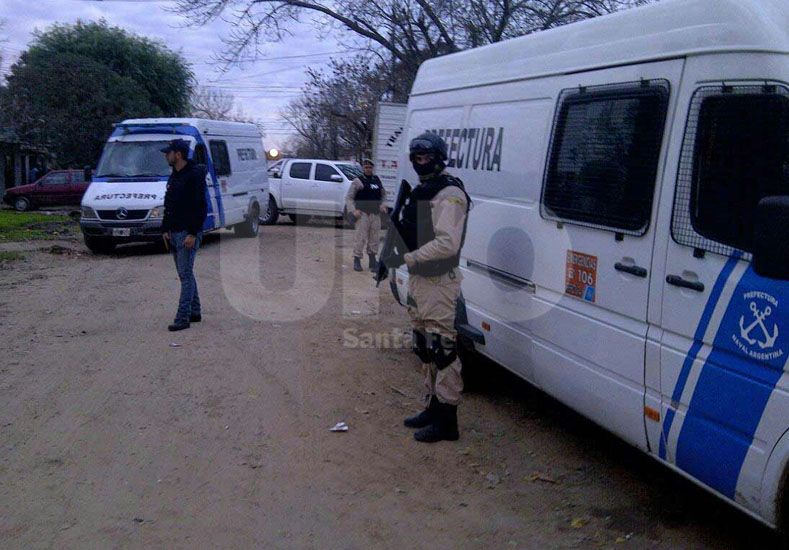 Prefectura Naval atrapó a una banda de vendedores barriales de drogas