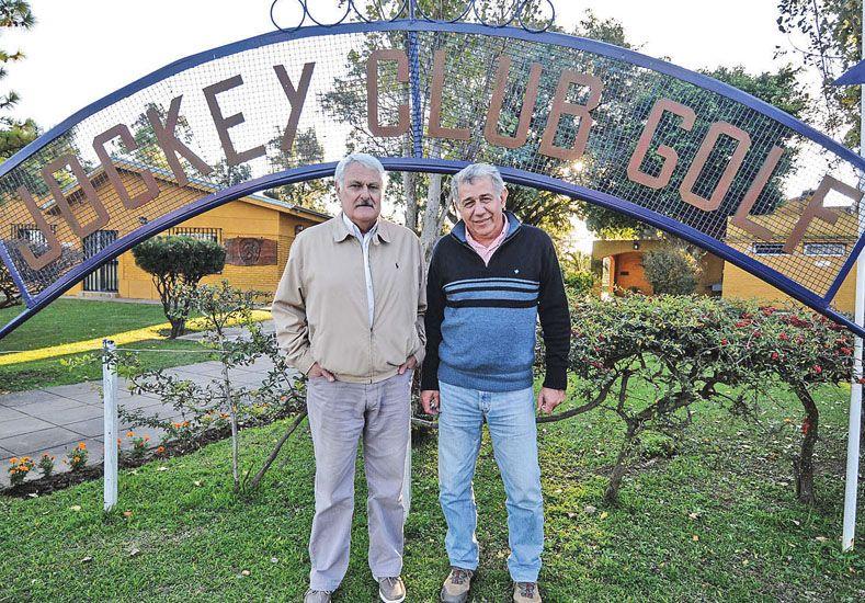 Polifuncionales. Carlos Morcillo (presidente) y Héctor Casanovas (tesorero).