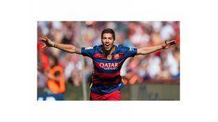 Tremendo rompe redes: Luis Suárez el Pichichi de la Liga