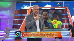 Jorge Rial contó los detalles de la discusión que terminó con Osvaldo fuera de Boca