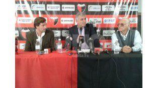 Conferencia de prensa. La misma fue brindada por los integrantes de la sindicatura