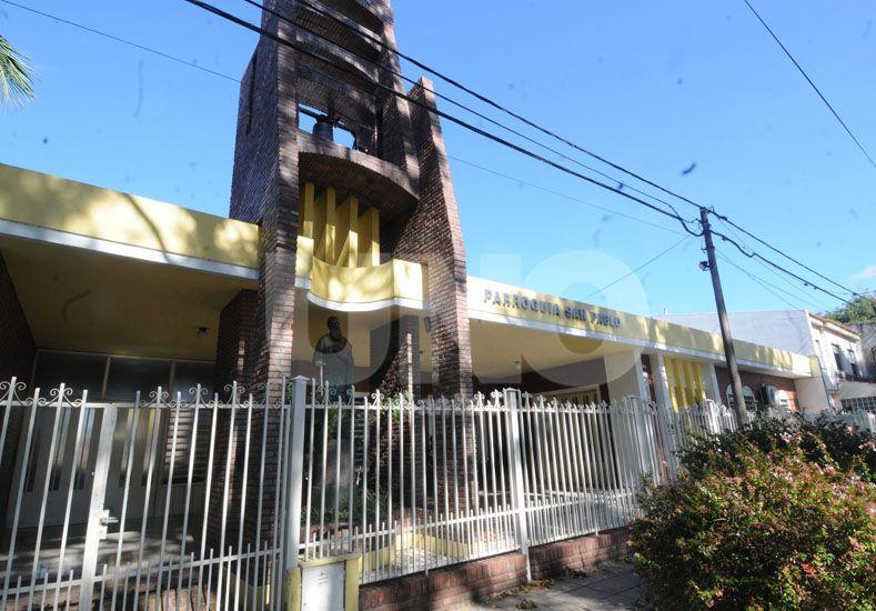 Privilegiada. Será la ubicación que tendrá la estructura donde descansará el párroco / Foto: José Busiemi - Uno Santa Fe