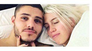 Wanda publicó una foto de su noche hot con Icardi