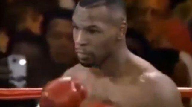 Descubren una escalofriante imagen en una pelea de Tyson
