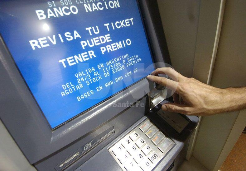 Este domingo se interrumpirá el servicio para algunos cajeros automáticos y home banking