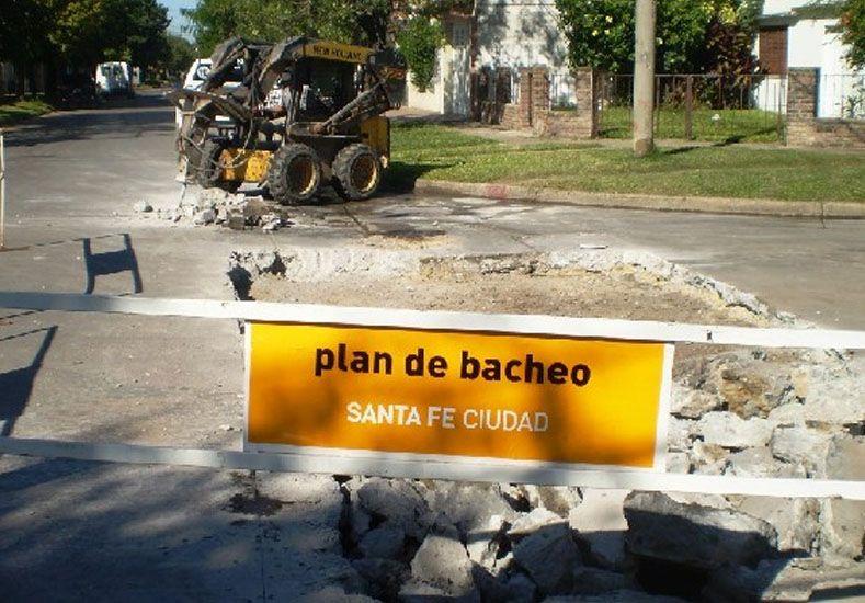 Plan de Bacheo: trabajos previstos para el jueves 12 de mayo