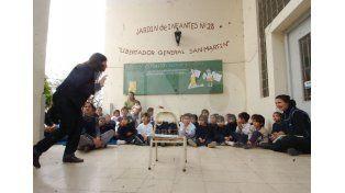 Respeto. La propuesta prioriza la construcción de aprendizajes significativos de niñas y niños a través del juego. UNO de Santa Fe/José Busiemi