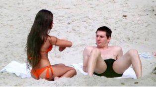 Como nunca la viste: el lado más sexy de la mujer de Messi