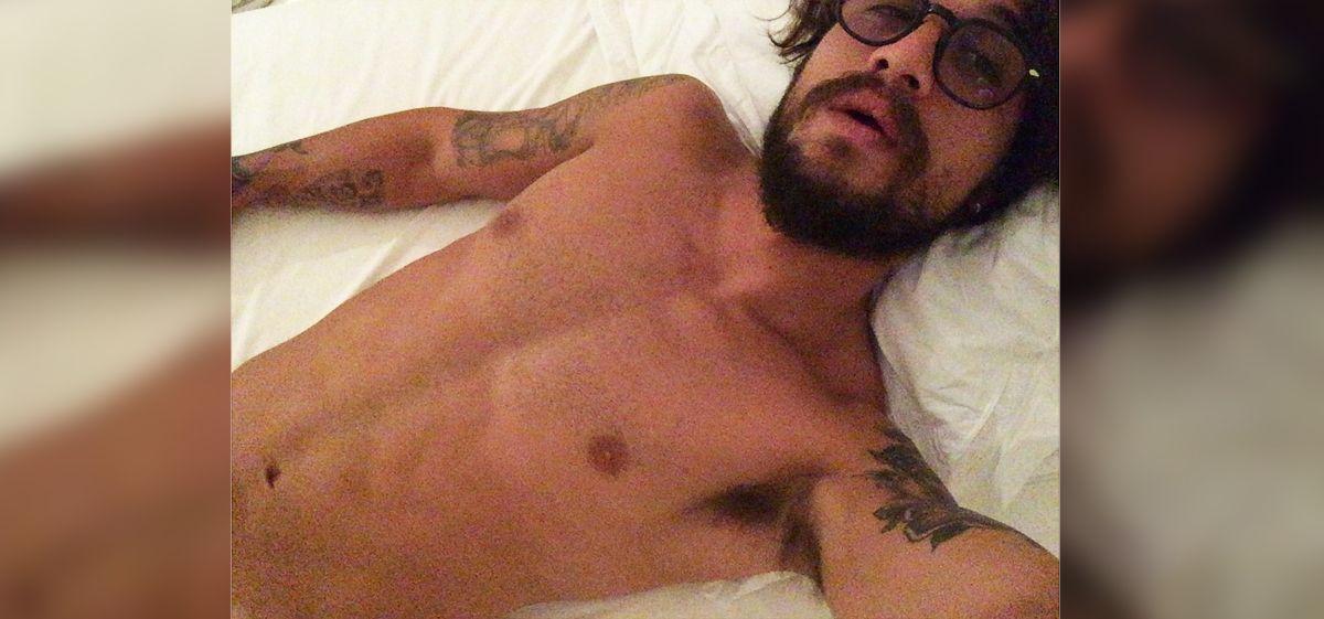 Aparecen fotos de Daniel Osvaldo desnudo