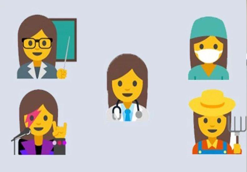 Esto son los emojis femeninos que propone Google para fomentar la igualdad