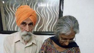 Una mujer india dio a luz por primera vez a los 70 años