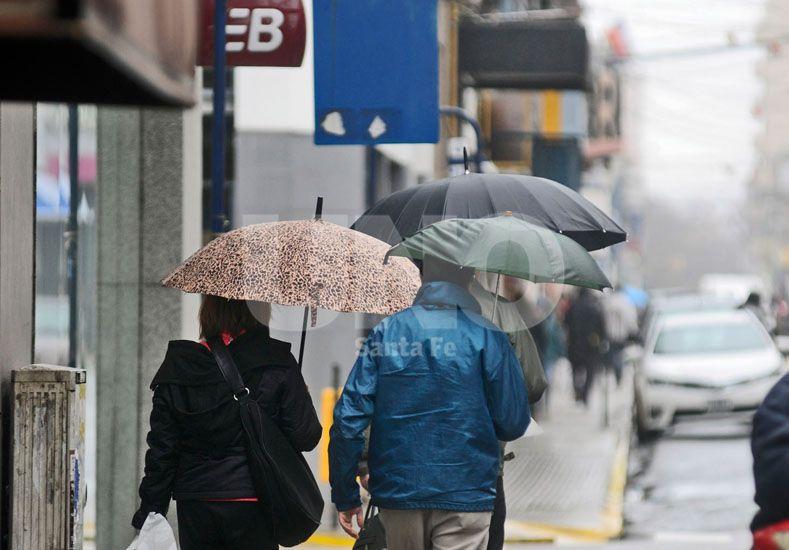 Martes con lluvia en Santa Fe