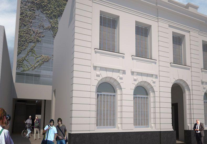 Se conocerán las ofertas para terminar las obras en el nuevo edificio del Instituto 12