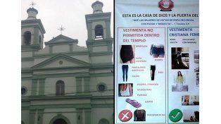 Sacerdote prohibe usar jeans o calzas a mujeres y niñas: Abajo de la sotana hay un hombre
