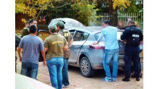 Ruta 1: cinematográfica persecución con detenidos por contrabando de celulares