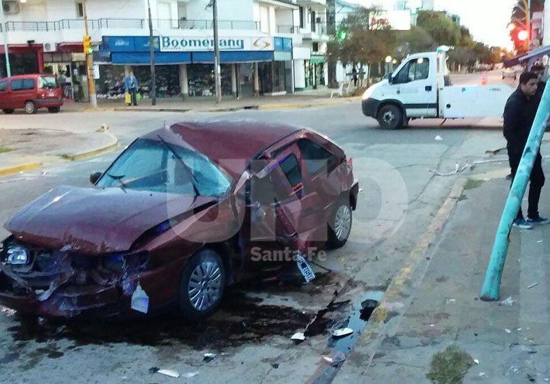 Choque fatal en Santo Tomé