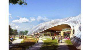 El nuevo campus hippie futurista de Google por dentro
