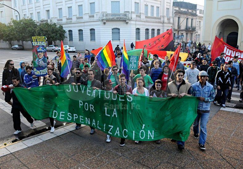 Lucha contra el narcotráfico y más presencia del Estado, los ejes en la marcha mundial de la marihuana