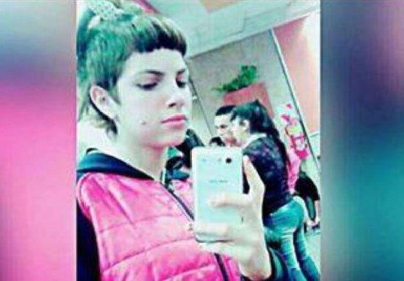 La imagen de la joven víctima difundida en las redes sociales.