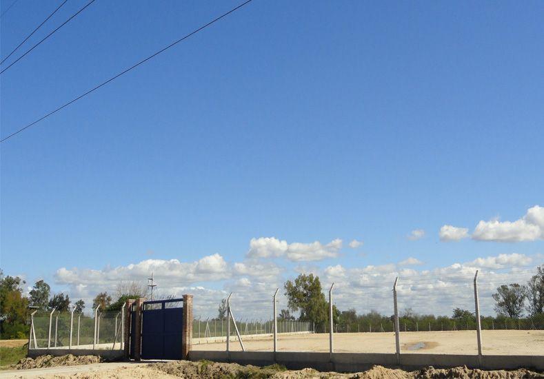 El lugar en donde se construirá la Estación Transformadora./ Gobierno de la Provincia.