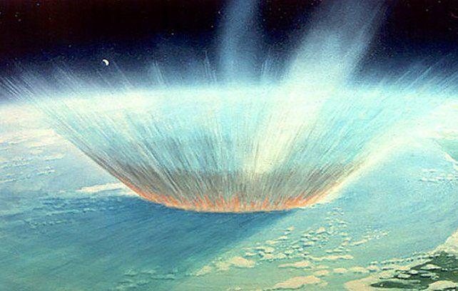 Una perforadora alcanzó el cráter que dejó el asesino de dinosaurios