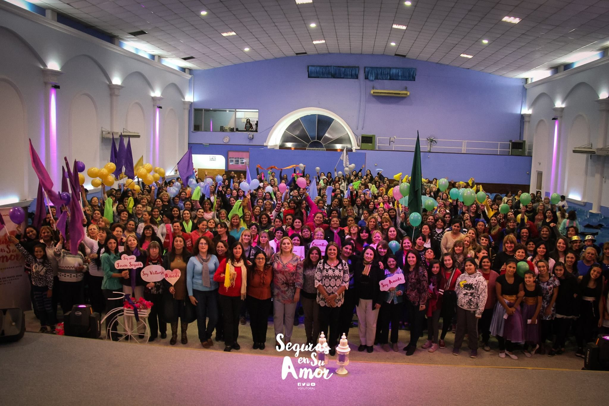 """La Iglesia Visión de futuro realizará la convención de """"Mujeres virtuosas"""" en la Estación Belgrano"""