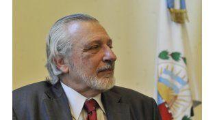 El ministro de Justicia de Santa Fe El ministro de Justicia de Santa Fe