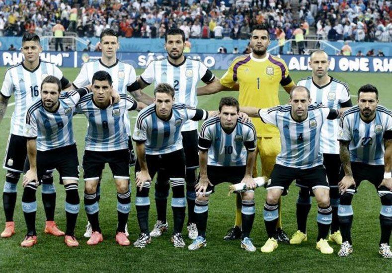 La Selección en el puesto número uno a nivel mundial.  Foto: Télam