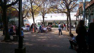 Hoy no hay se dictarán clases en la escuela de Salta e Iriondo. (Foto La Capital/Archivo)
