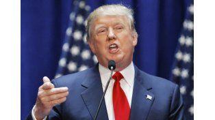 Trump alcanzó un triunfo clave contra su rival Ted Cruz, quien se retiró