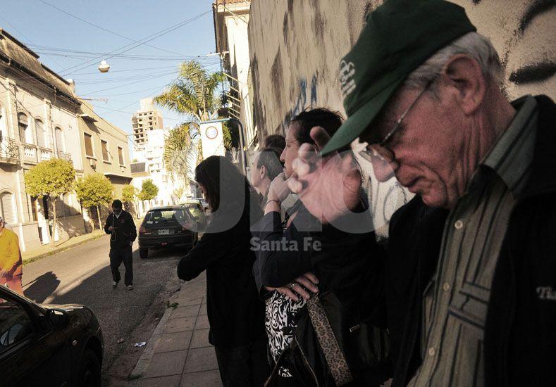 En trámite. La fiscalía apeló la falta de mérito que dictó la Cámara Federal de Rosario para los agentes del Banco Galicia / Foto: Juan Manuel Baialardo - Uno Santa Fe
