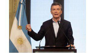 Macri habló esta mañana desde Casa Rosada.