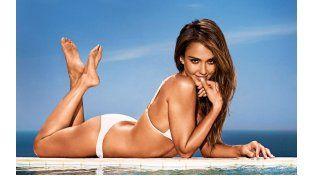 Jessica Alba, diosa en bikini en Hawaii
