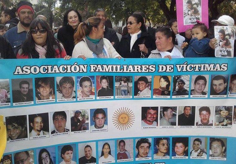 Los familiares de víctimas siguen pidiendo justicia