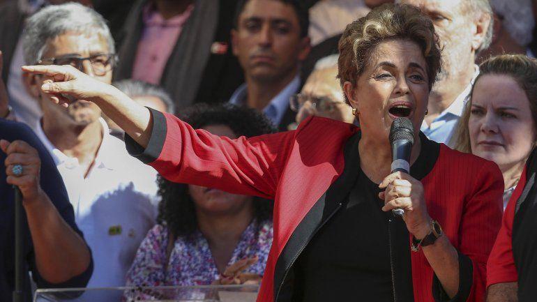 """En el acto por el Día del Trabajador Dilma Rousseff expresó: """"Nunca recibí coimas"""