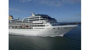 Zarpó el primer crucero de EEUU a Cuba en medio siglo