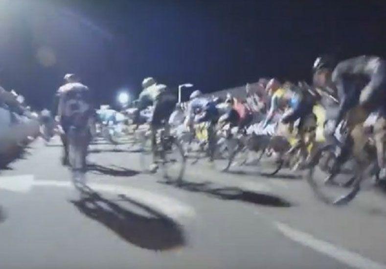 Impactante accidente durante una carrera de bicis en Nueva York