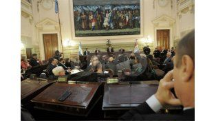 El gobernador habló sobre los ejes de su gestión. Diario UNO / Juan Manuel Baialardo